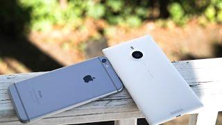 iPhone 6 Plus vs Lumia 1520