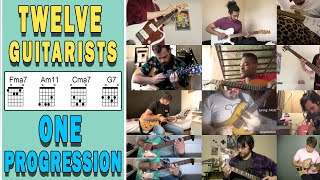 12 Guitarists 1 Chord Progression   Steal This Chord Progression Collab   EP 1  Math Rock  Emo