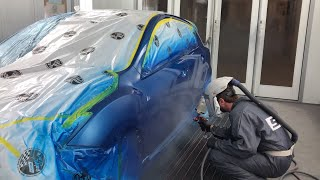 Why Do Automotive Paint Shops Blend Color?
