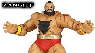 Storm Collectibles ZANGIEF Street Fighter V Action Figure Toy Review