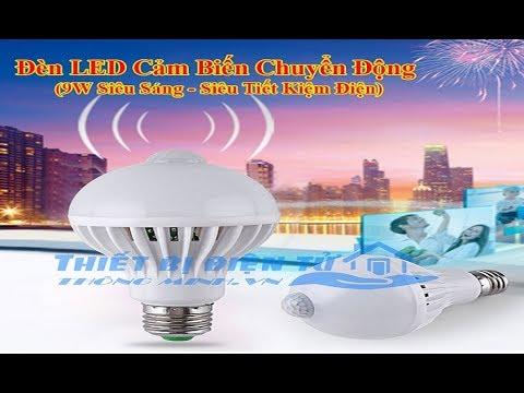Bóng đèn cảm biến chuyển động Gọi 0965.668.838 để đặt hàng