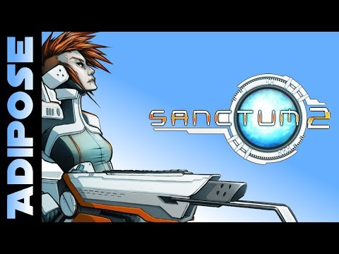 Let's Try Sanctum 2! FPS and Tower Defence all in one!