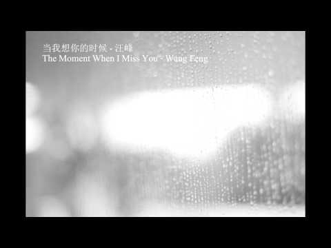当我想你的时候 dang wo xiang ni de shi hou (HD) (Lyrics+pinyin+translation in English)