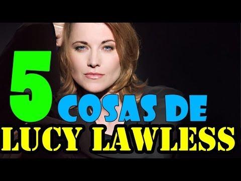 LUCY LAWLESS // 5 CURIOSIDADES QUE QUIZA NO SABÍAS