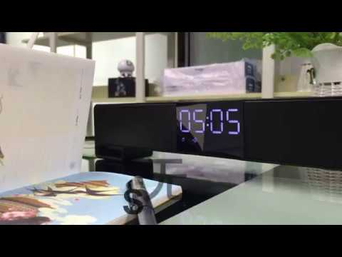 Smalody soundbar 8010 Wireless Bluetooth Alarm-clock Speaker