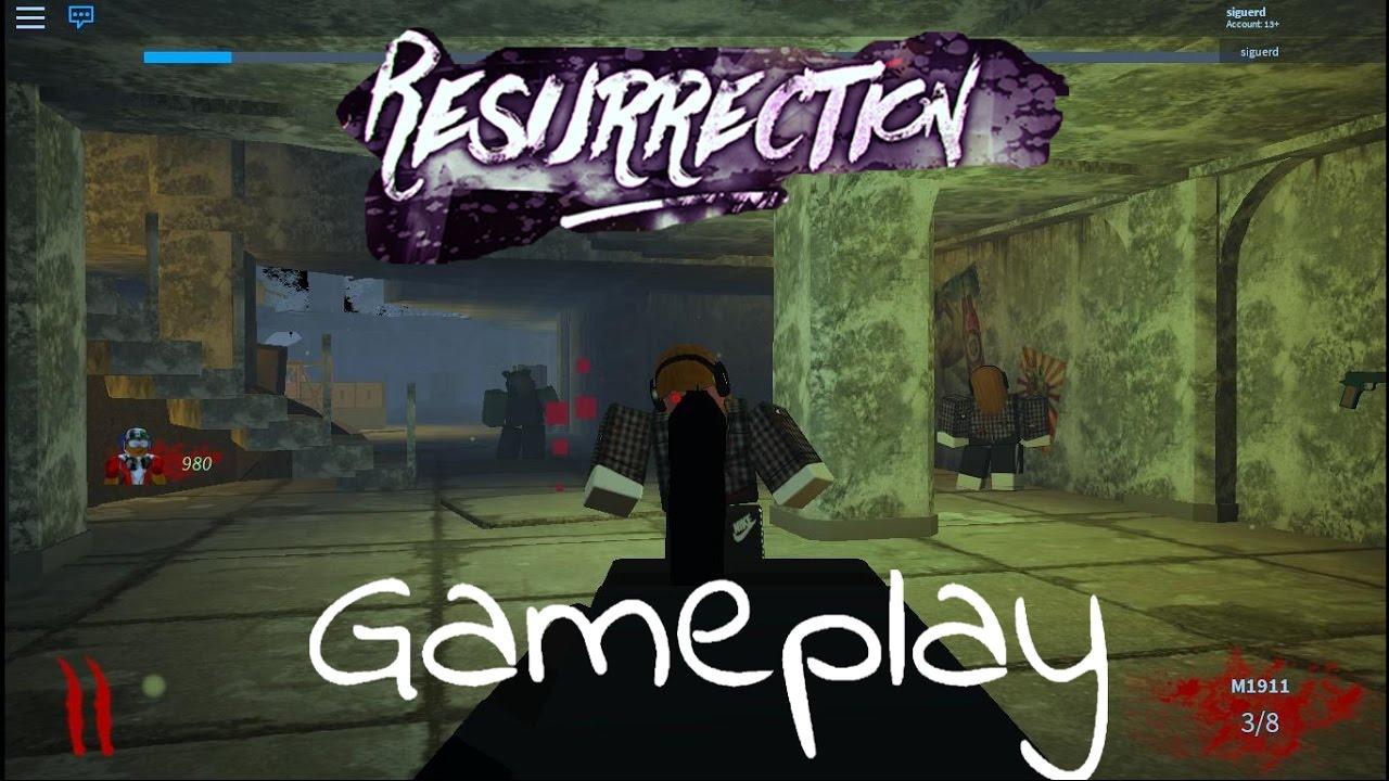 This Game Is Amazingroblox Resurrection Youtube