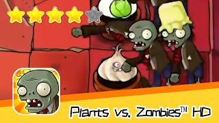 Plants vs  Zombies™ HD Adventure 2 ROOF 01 Walkthrough The zombies are coming! Recommend index five