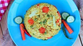 সবজি খিচুড়ি || Vegetable Bhuna Khichuri || Bengali Vegetable Khichuri || Khichuri