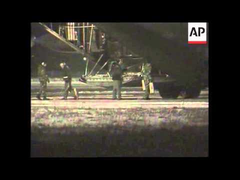 US Military planes land in Romania