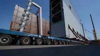 #Solutions #Howwedoit Sarens Transport Gates for the Panama Canal