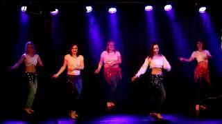 Sepidehes grupp i Orientalisk Dans WDC h-t 2017 Video