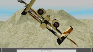Sierra's Silent Thunder: A-10 Tank Killer II - Gameplay - Gulf - Mission 4: Easting