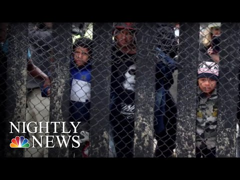 Migrant Caravan Seeking Asylum Faces Uncertain Future | NBC Nightly News