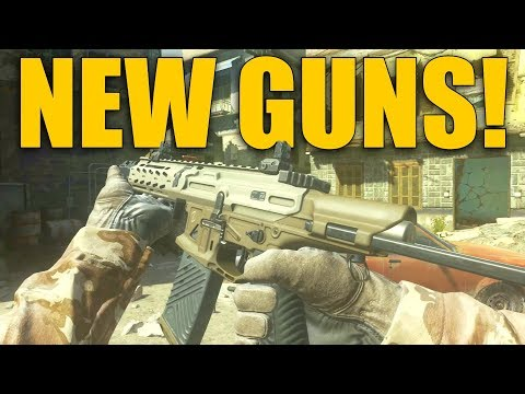 NEW GUNS IN MW REMASTERED! Lynx CQ300, PK-PSD9, and BR9 Gameplay!