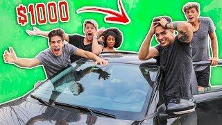 EL ULTIMO EN SALIR DEL AUTO GANA $1000 USD !!!