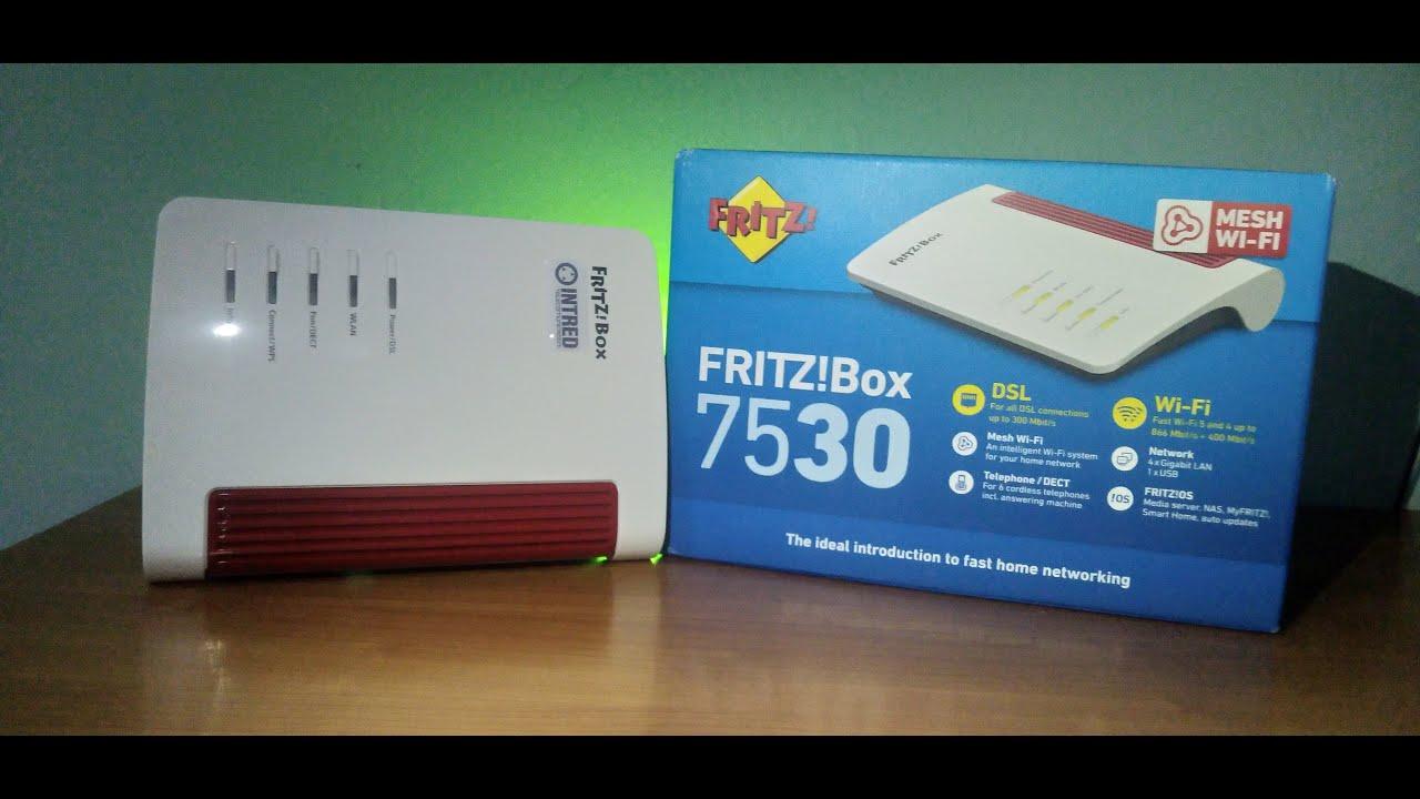 FRITZBox 20 AVM 20 Router mini Unboxing