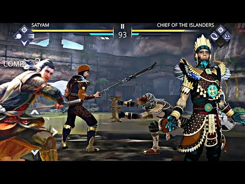 Shadow Fight 3 Boss Fight With CHIEF OF THE ISLANDERS. ( Gameplay )