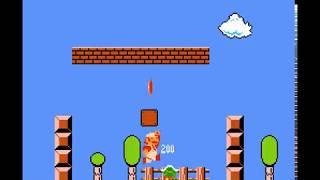 [TAS] Super Mario Bros. - Warpless in 18:37.46