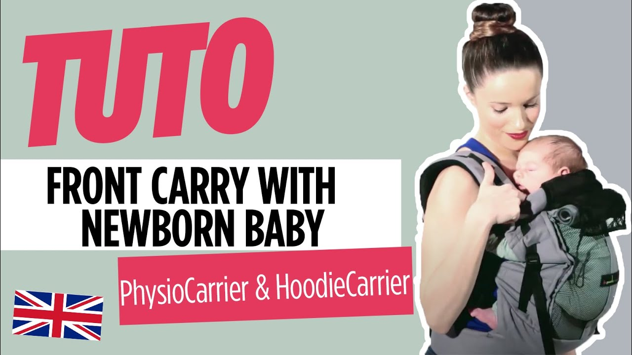 JPMBB Baby Carriers Front Carry With Newborn Baby YouTube - Porte bebe physiocarrier