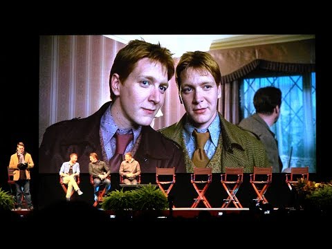 James Phelps 'Fred Weasley' Harry Potter Tribute  at Universal Orlando