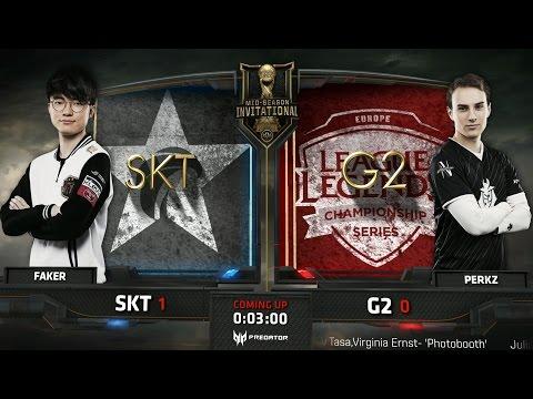 SKT vs G2 Game 4 - 2017 MSI Finals - SK Telecom T1 vs G2 Esports