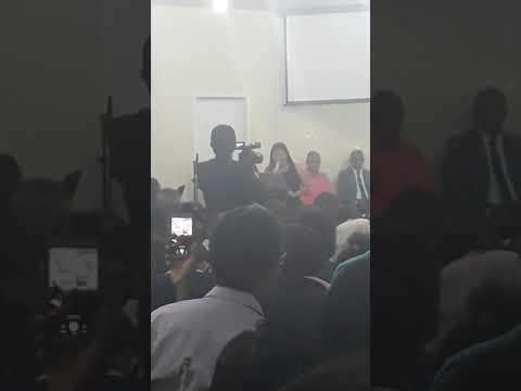 Posse pastor Abraão Sampaio PIB Maetinga