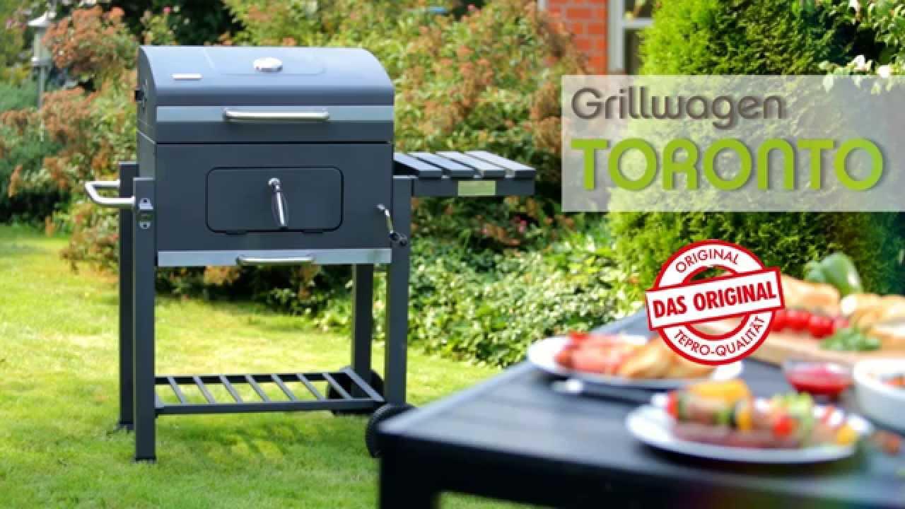 Tepro Toronto Holzkohlegrill Click Test : Unboxing grill toronto xxl aufbau und vergleich vs toronto