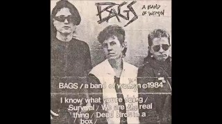 Bags / A Band Of Womyn - s/t 1984 tape