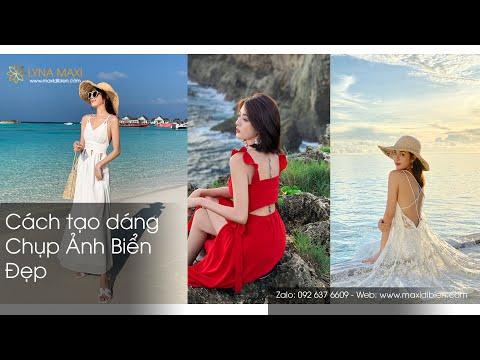 Cách tạo dáng chụp ảnh đi biển cực đẹp 2020 - Lyna Maxi