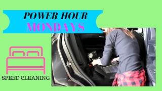 SPEED CLEAN MY HOUSE | POWER HOUR | SAHM
