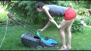 Уход за газоном(В этом видео показываю, как надо ухаживать за газоном, как стричь его. А также - результаты нашего труда (како..., 2015-05-31T11:00:02.000Z)