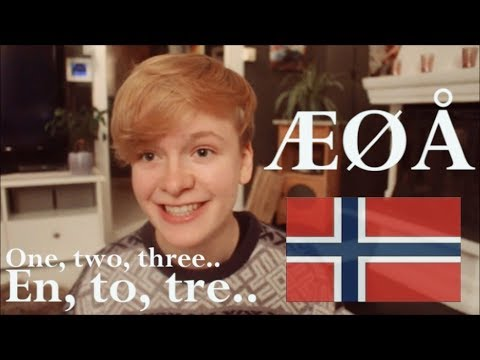 The alphabet & numbers 1-100 | Norwegian lesson