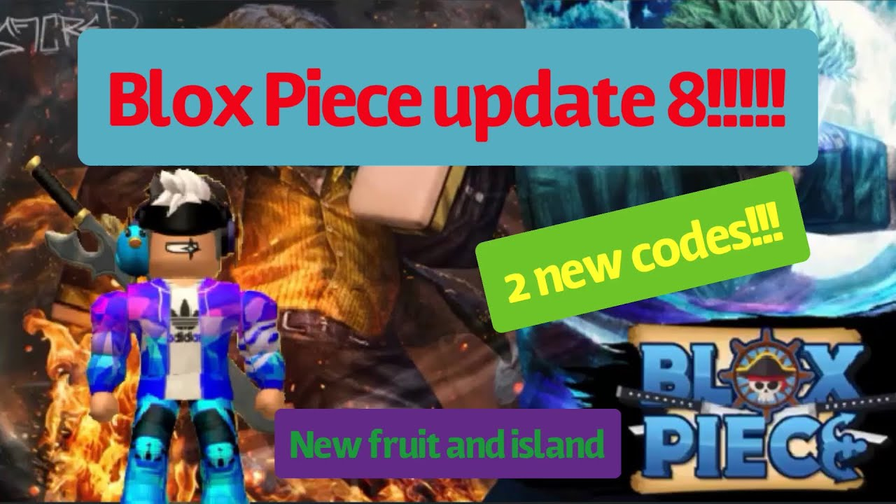 Blox Piece Update 8 Codes And Devil Fruit Giveaway Youtube