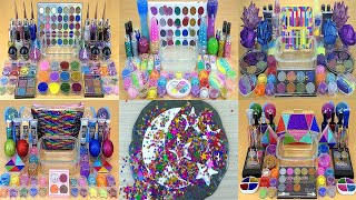 6 in 1 Video BEST of COLLECTION GLITTER SLIME 🤍🤍🤍 💯% Satisfying Slime Videos 1080p