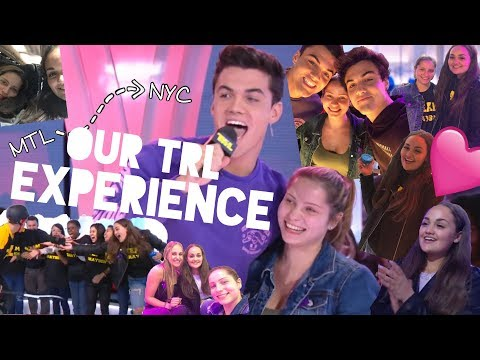 WE WERE ON TRL WITH THE DOLAN TWINS??!
