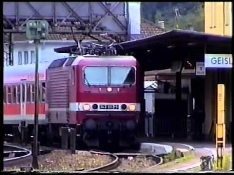 Bahnverkehr Geislingen, Lindau, Singen 10/2000