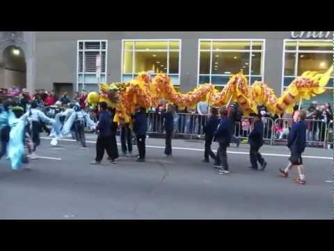 San Francisco Chinese New Year Parade 2013 Starr King Elementary School