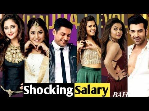 Shocking Salary Of Bigg Boss 13 Contestants Salman Khan