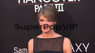 Gillian Vigman at The Hangover Part III Los Angeles Premi...