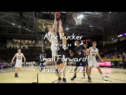 "Alex Rucker 6'4"" Class of 2021 Basketball Highlights Boulder High School (2018-19 Season)"
