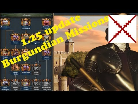 EUIV: 07 Burgundian Missions - YouTube