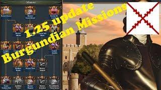 EUIV: 07 Burgundian Missions