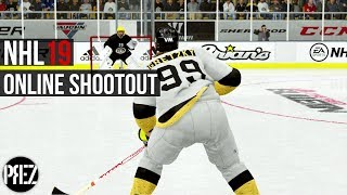NHL 19 Online Shootout - IM NOT GOOD AT GOALIE!