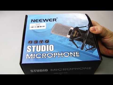 Neewer NW-700 Professionelle Studio Rundfunk /& Aufnahme Kondensator-Mikrofon Kit