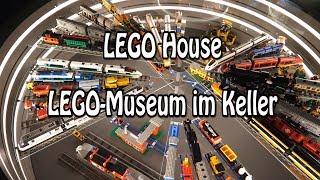 LEGO Museum im Keller vom LEGO House in Billund