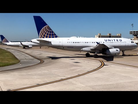 United Airlines [First Class] Airbus A320, Houston IAH to Miami MIA - Flight Report