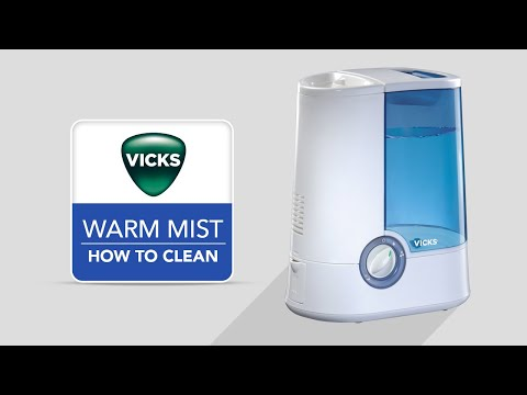 Vicks Warm Mist Humidifier V750 - How to Clean