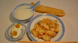 You tiao, crisp chinese crullers. 油條