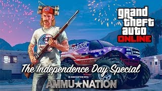 GTA 5 Online Independence Day Update | Playing With Fireworks!