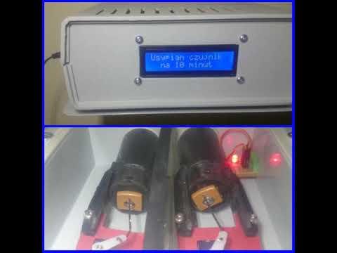 Czujnik PMS5003, Esp, LCD, doloty